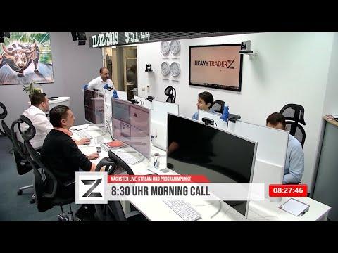 11.12. Morning Call - Tagesausblick für DAX GOLD ÖL BUND AKTIEN KRYPTOS und mehr