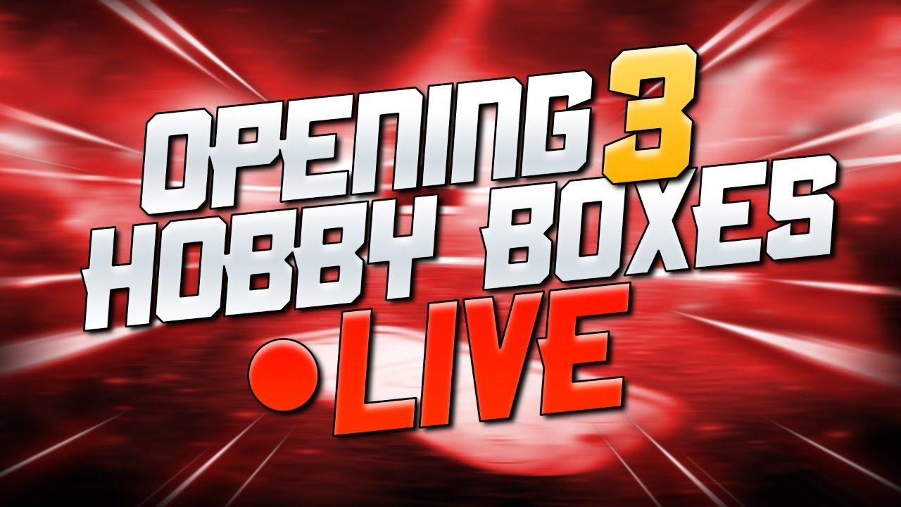 Livestream | Opening 3 Hobby Boxes of 2018-19 Upper Deck MVP Hockey Cards