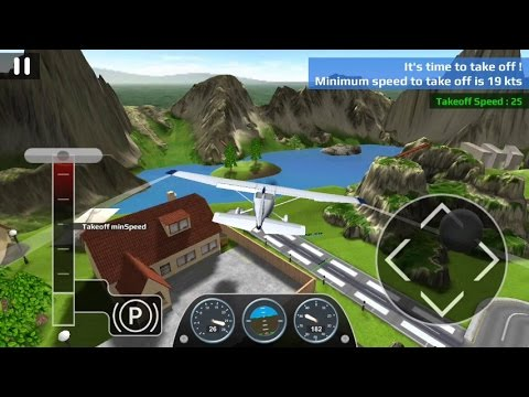 Airplane Flight Simulator RC (by i6 Games) - simulation game for android - gameplay.