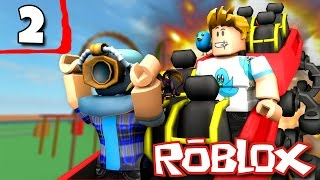 IT BLEW UP! | Theme Park Tycoon Part 2 w/ Gamer Chad! ROBLOX