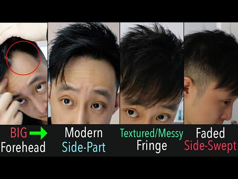 my-3-hairstyles-for-fine-hair-&-big-forehead/receding-hairline-|-also-for-short/medium-or-asian-hair