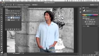 Adobe Photoshop CC Tutorial | Working With Adjustment Layer Masks