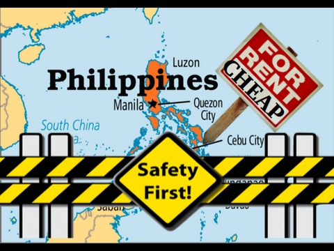 Cheap Apartments in the Philippines, Safety and Security ✅