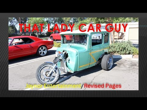 WIP 3-Wheeler Motorcycle 1930 Ford body VW chassis - Custom 9 - That Lady Car Guy