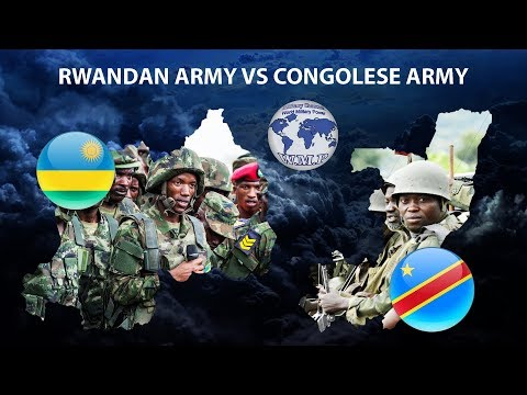 Rwanda VS DR Congo Military Power Comparison 2018