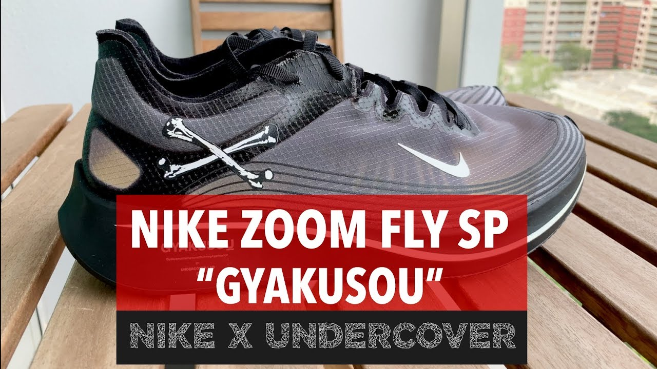 GYAKUSOU - Nike Zoom Fly SP X Undercover (Review + On-feet) - YouTube b332d5dbc