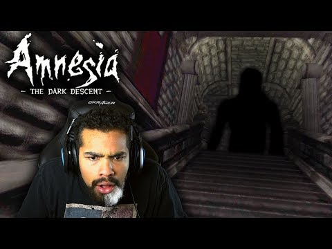THERE'S SOMETHING VERY EVIL IN HERE WITH ME!!   Amnesia: The Dark Descent   #1
