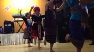 Laos traditional dance 2013 Las Vegas