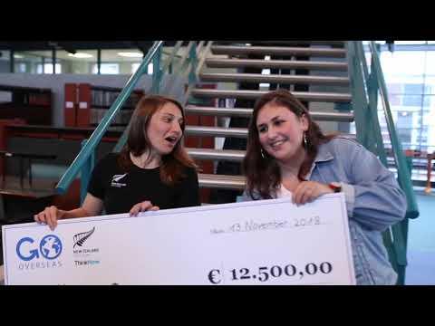 Go Overseas NZ Scholarship Winner 2018 (Europe)