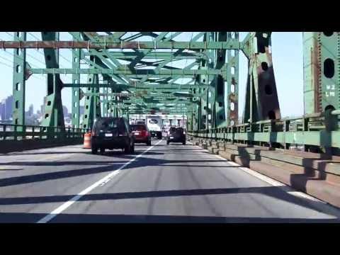 Maurice Tobin Bridge southbound