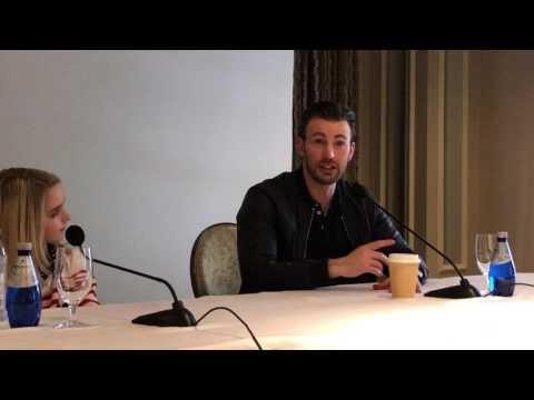 McKenna Grace Hugs Chris Evans  GiftedMovie