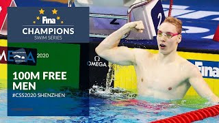 100m Free Men | Shenzhen Day 2 | FINA Champions Swim Series 2020