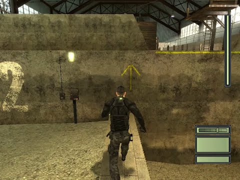 Tom Clancy S Splinter Cell Pc Gameplay Hd Youtube