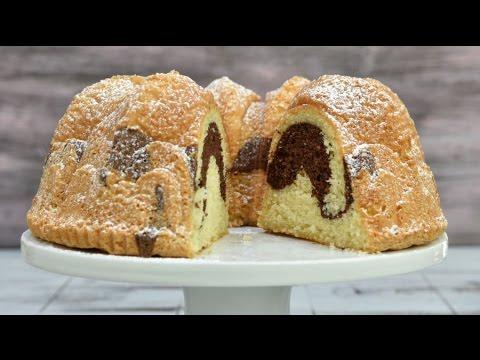 VANILLA CHOCOLATE SPONGE BUNDT CAKE, HANIELA'S