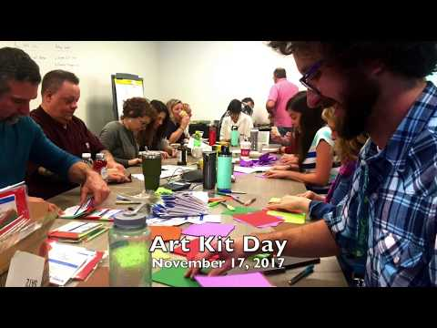Art Kit Day at Whole Foods Market Global Support November 16, 2017