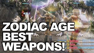 14 Best Weapons In Final Fantasy 12: The Zodiac Age + How To Get Them!