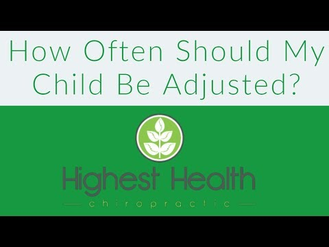 How often should kids be adjusted - Pediatric Chiropractor Sioux Falls - Dr. Nate DeJong