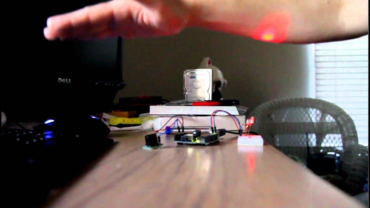 Arduino and Maxbotix LV-EZ1