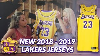 Lakers Nation Review: New 2018-2019 Nike Lakers Jersey Unboxing and First Impressions