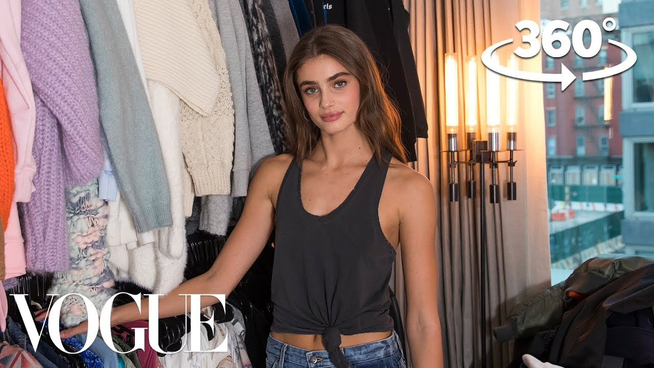 d8635df09f0c Taylor Hill Takes You on a 360° Tour of Her Closet