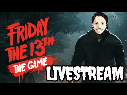 NGABUBURIT BARENG JASON! FRIDAY THE 13TH THE GAME! (LIVE)