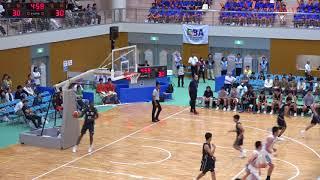 福岡vs京都(Q2)高校バスケ 2017 えひめ国体少年男子決勝