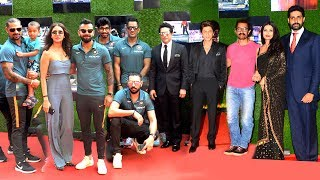 Indian Cricket Team & Bollywood Celebs At Sachin Movie GRAND Premiere -Dhoni,Kohli,SRK,Aamir,Yuv