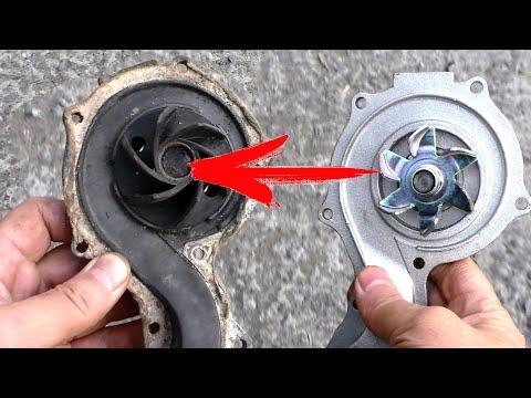 Двигатель ГРЕЕТСЯ? Как проверить водяную помпу насос охлаждения