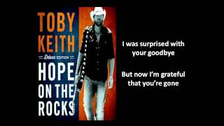 [Lyrics On Screen] Missed You Just Right Lyrics - Toby Keith