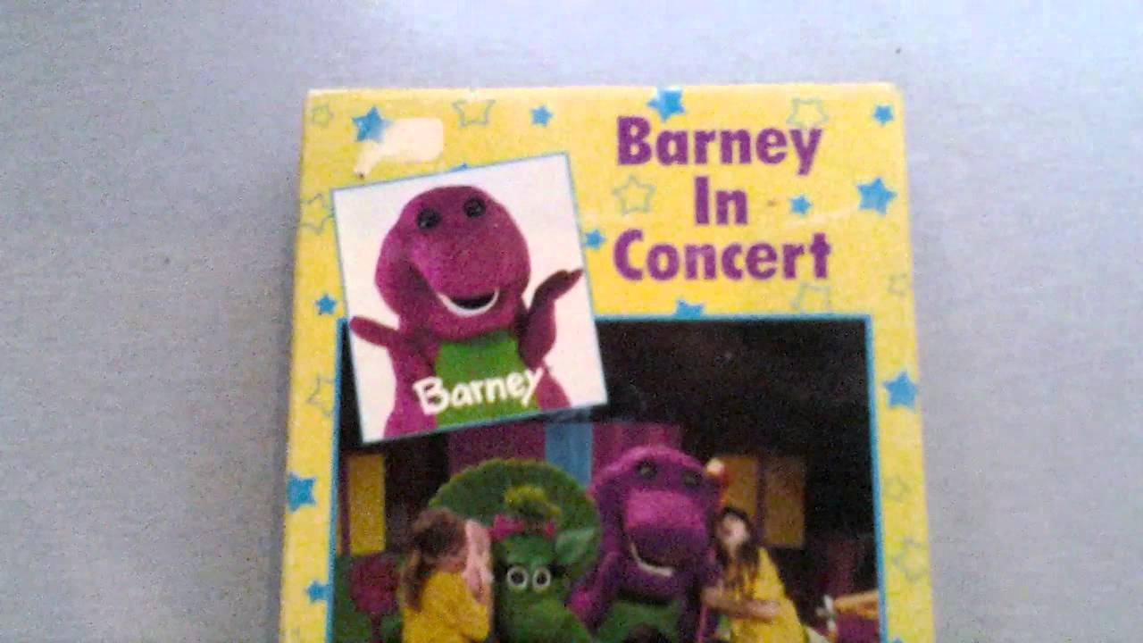 barney video barney in concert lyons edition vhs youtube