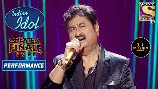 Kumar Sanu ने अपनी आवाज़ से बनाया Romantic माहौल   Indian Idol Season 12   Greatest Finale Ever