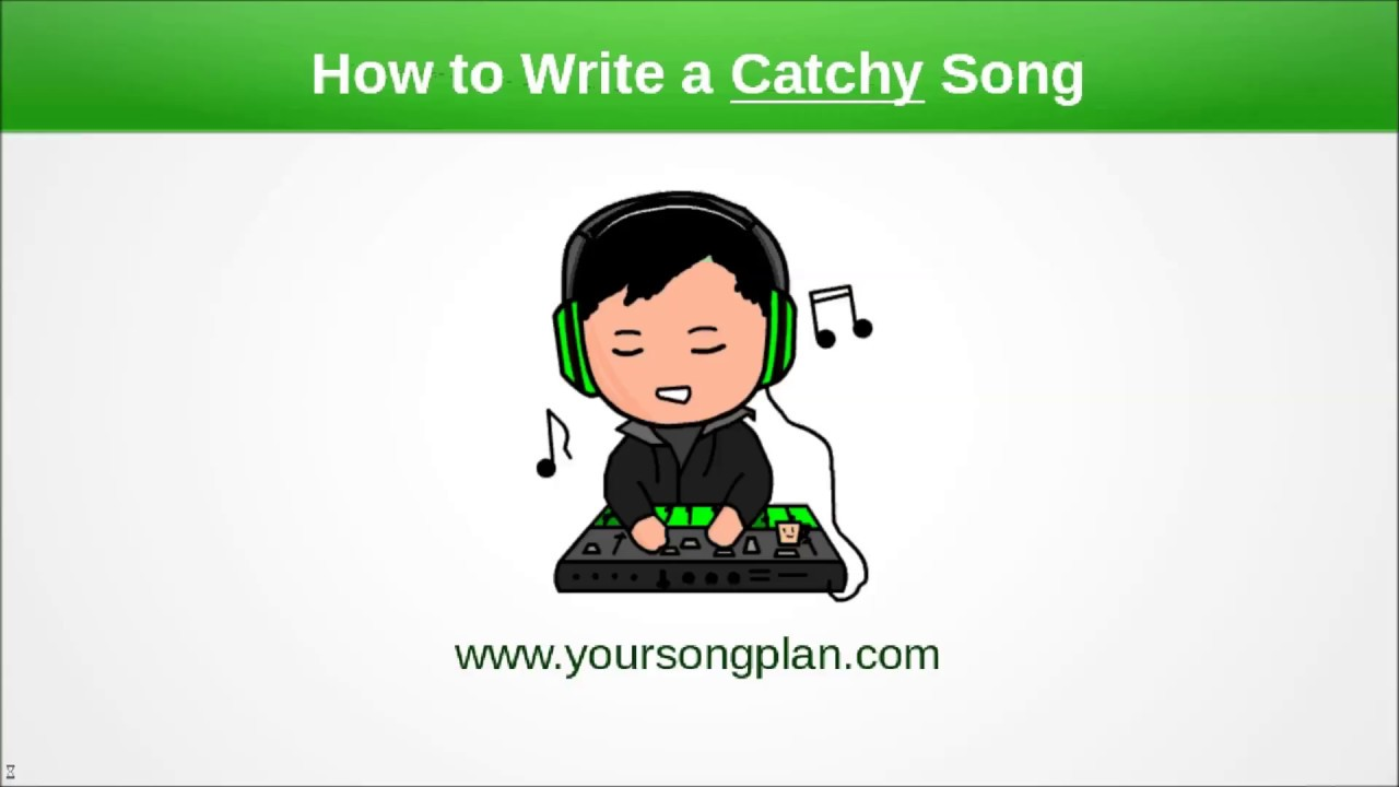 How to write a CATCHY song - YouTube