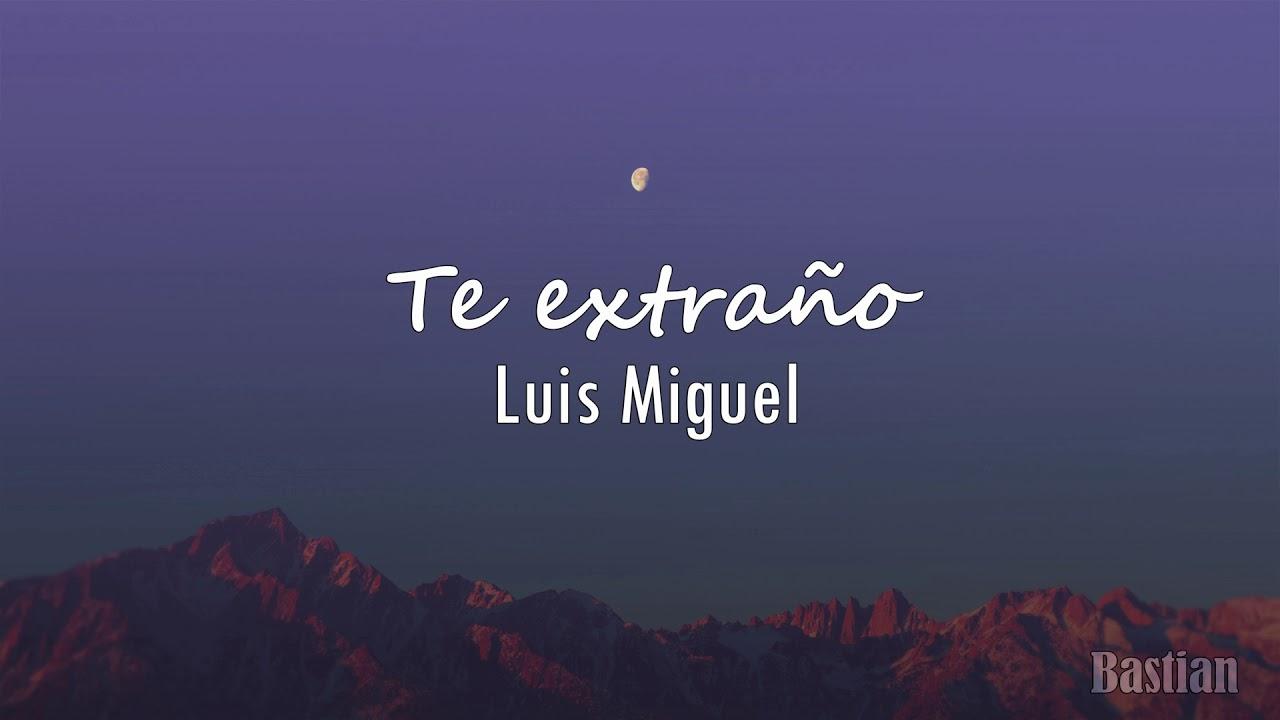 Luis Miguel Amante Del Amor Letra Youtube