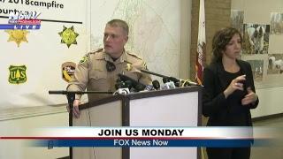 LIVE: Camp Fire Newser in Chico, California