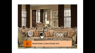 Traditional Classic Living Room Sets