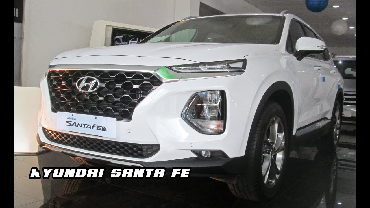 2019 All New Hyundai Santa Fe 2 2d Preview In Philippines