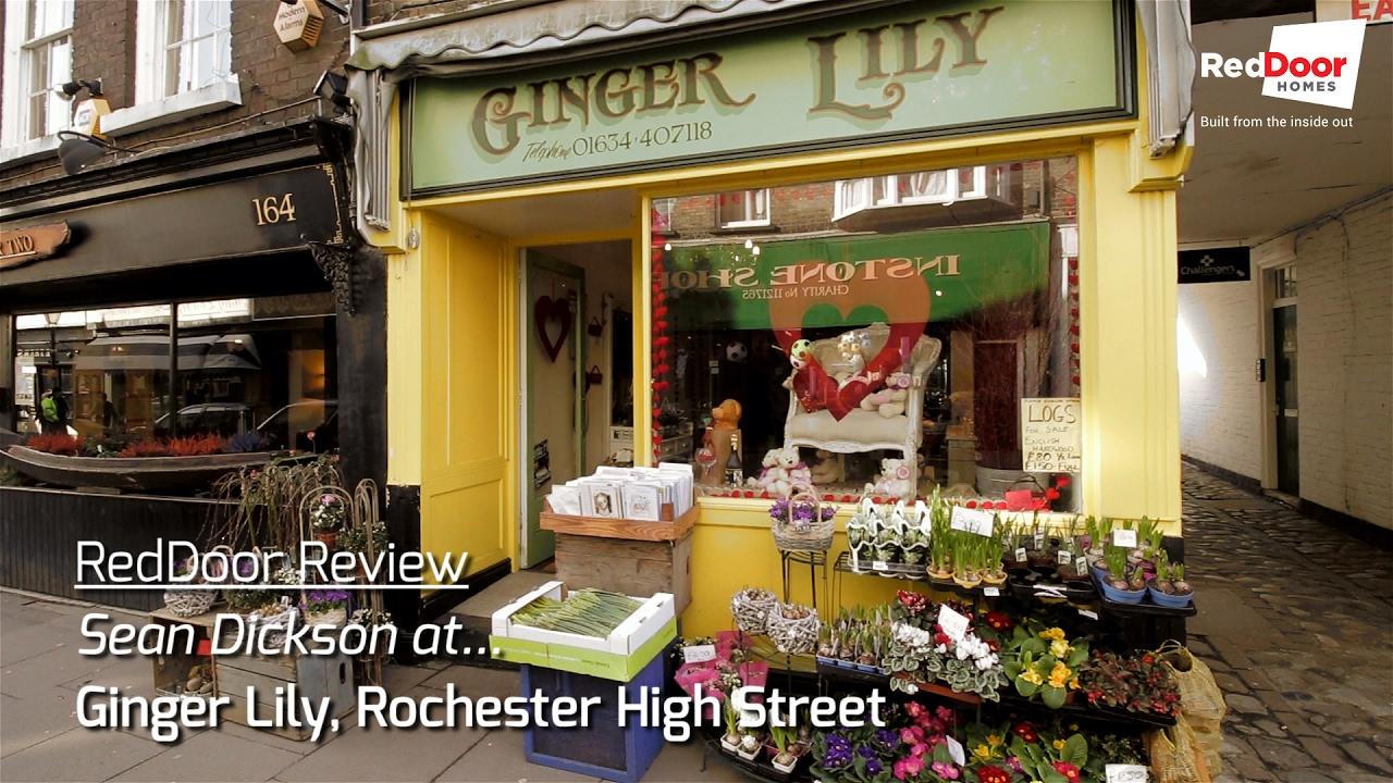 RedDoor Review: Sean Dickson At Ginger Lily. RedDoor Homes