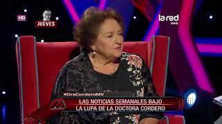Mentiras Verdaderas –María Luisa Cordero– Miércoles 25 de Abril 2018