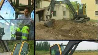 Volvo Mini Excavators ECR38, ECR58D and ECR88D Features