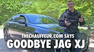 Farewell to the Jaguar XJ LWB 5.0 V8 Supercharged