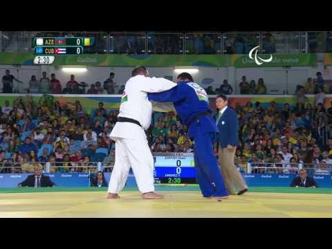Judo  Cuba v Azerbaijan   Men's +100kg Bronze Medal Contest B   Rio 2016 Paralympic Games
