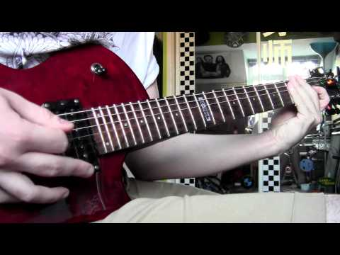 Bury Tomorrow - An Honourable Reign (Guitar cover)