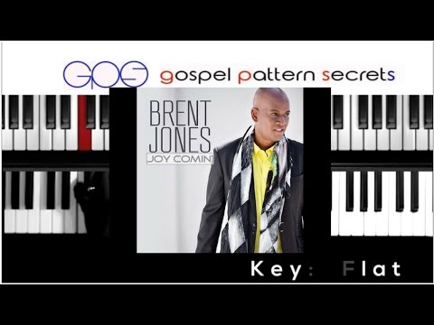 "How to play ""HE ROSE"" by Brent Jones (Piano Tutorial)"