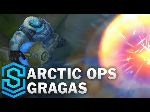 Arctic Ops Gragas Skin Spotlight - Pre-Release - League Of Legends