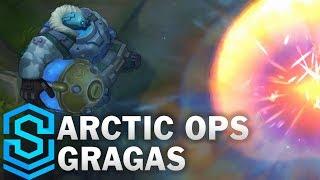 Arctic Ops Gragas Skin Spotlight - Pre-Release - League of Legends