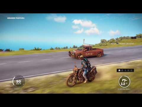 Just Cause 3 | car chase with a super epic stunt |