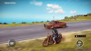 Gambar cover Just Cause 3 | car chase with a super epic stunt