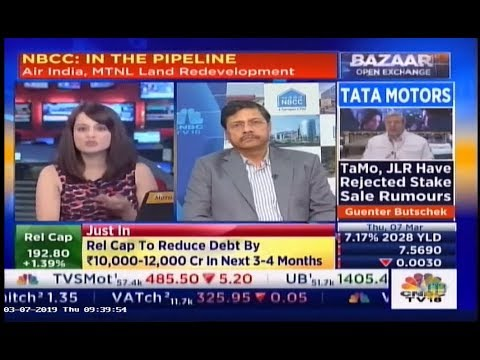 Dr. Anoop Kumar Mittal, CMD, NBCC in conversation with CNBC TV18