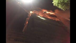 影/新莊工地大樓大火仍無法控制恐坍塌 消防員退出火場