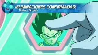 ¡ELIMINACIONES CONFIRMADAS DEL UNIVERSO 7! SINOPSIS CONFIRMADOS 119 al 122 DRAGÓN BALL SUPER EBattle